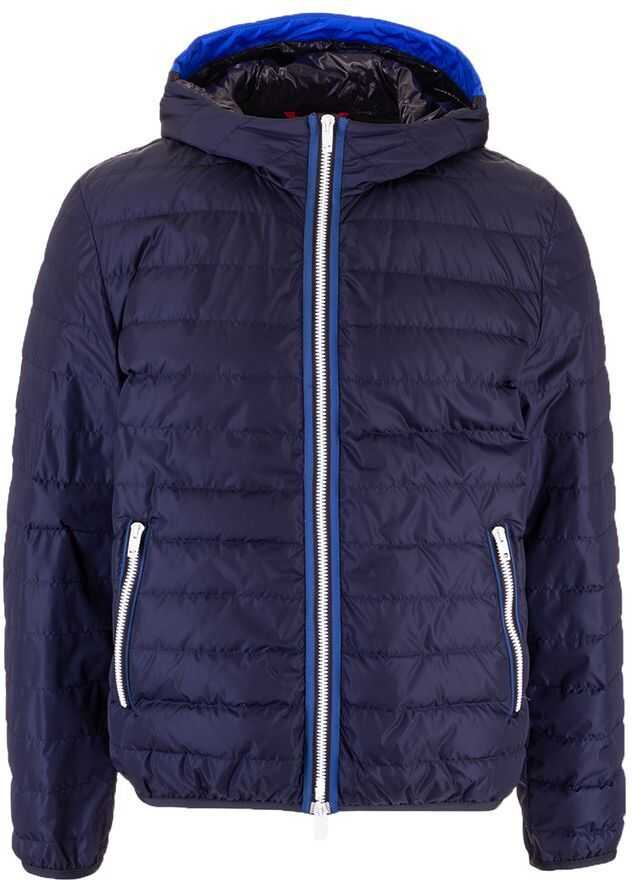 Fay Polyamide Down Jacket BLUE
