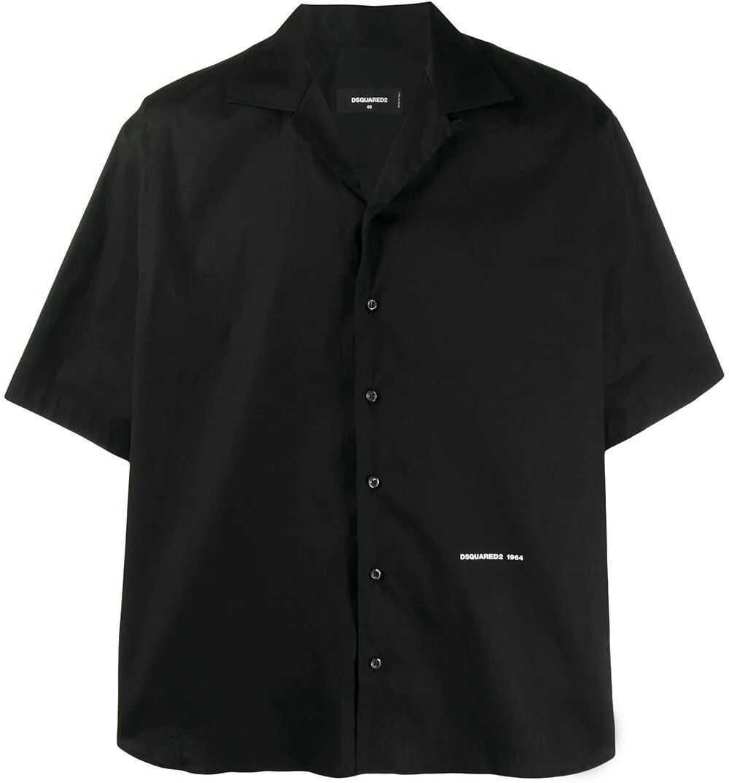 DSQUARED2 Cotton Shirt BLACK