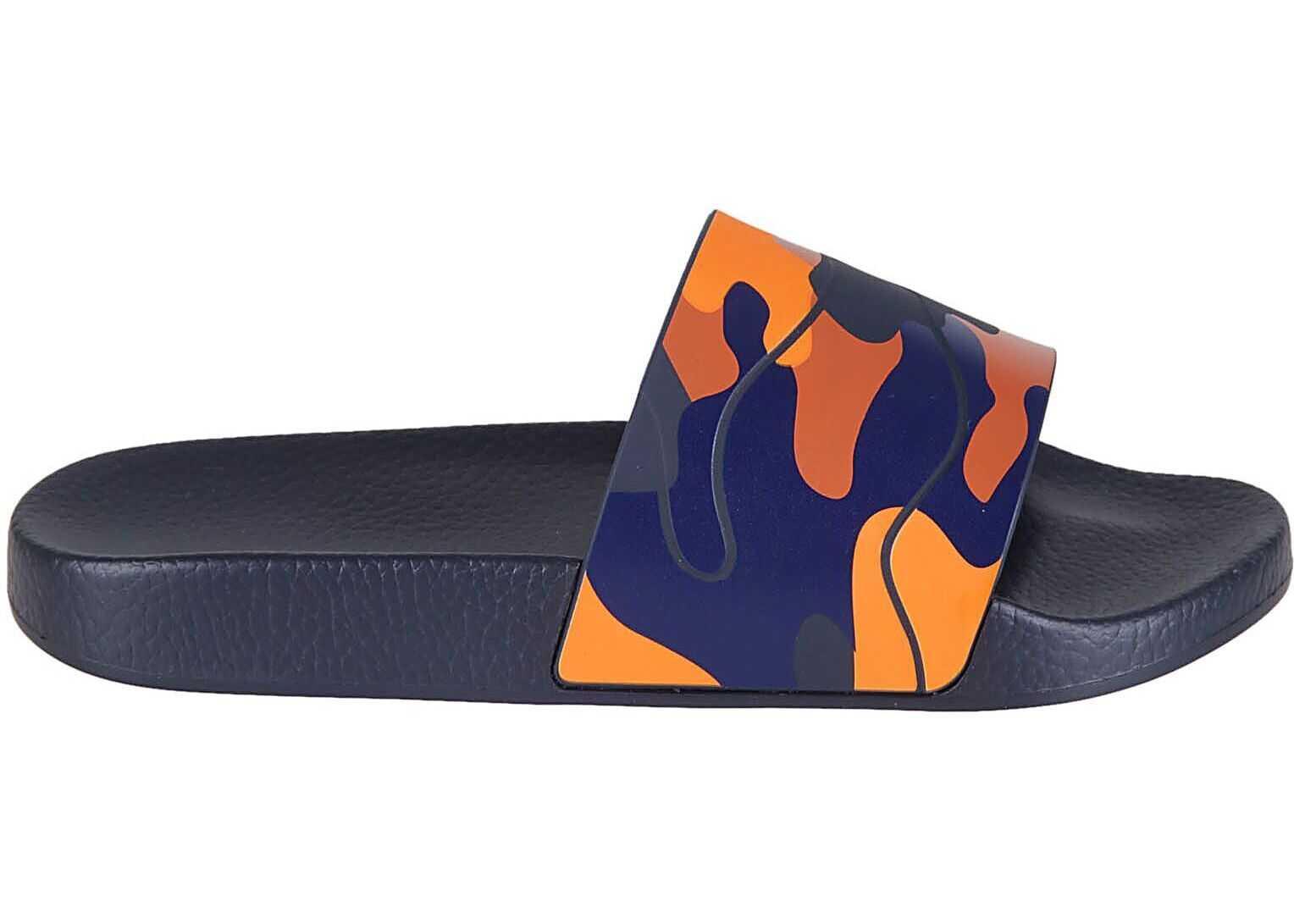 Valentino Garavani Rubber Sandals BLUE