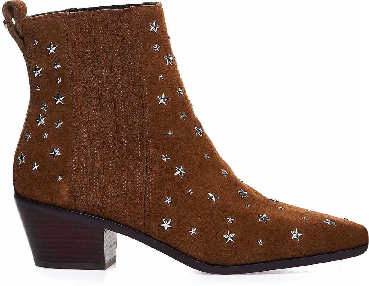 Liu Jo Suede ankle boots