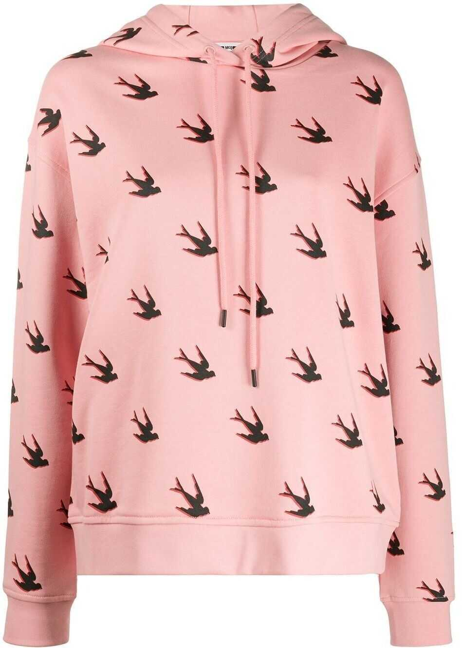 MCQ Alexander McQueen Cotton Sweatshirt PINK