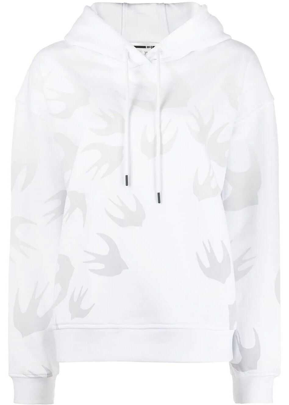 MCQ Alexander McQueen Cotton Sweatshirt WHITE