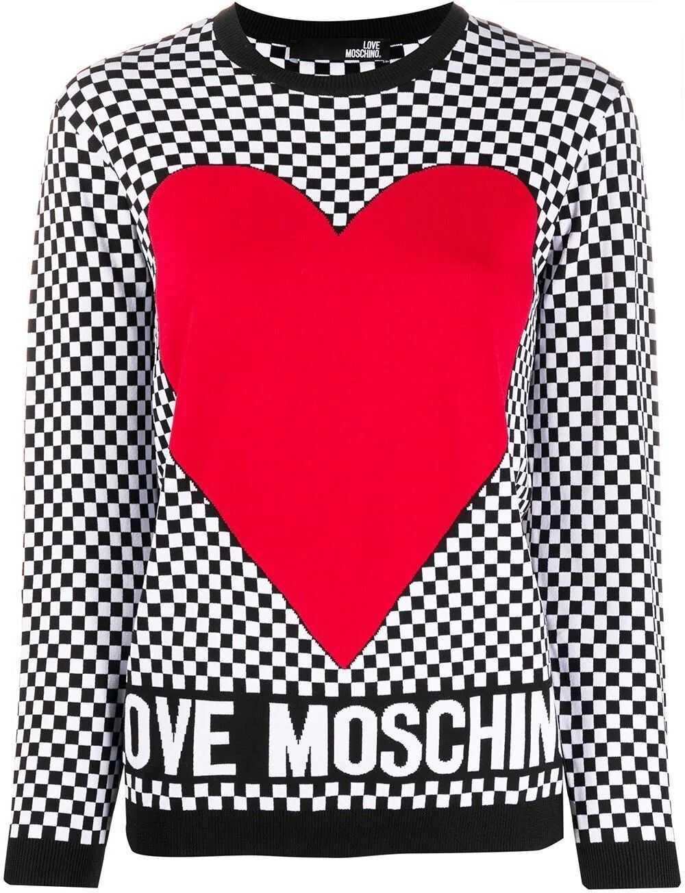 LOVE Moschino Viscose Sweater WHITE