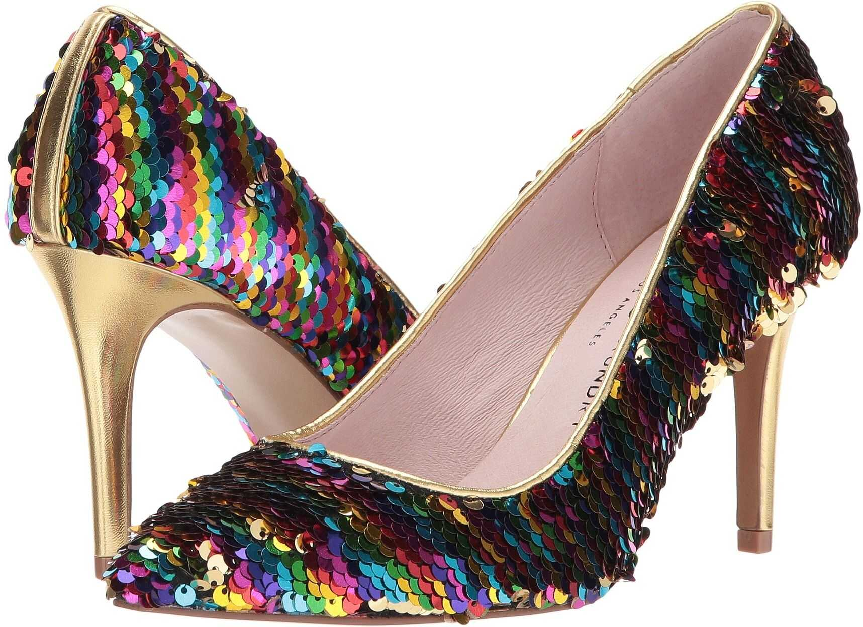 Chinese Laundry Ruthy Pump* Rainbow Sequins
