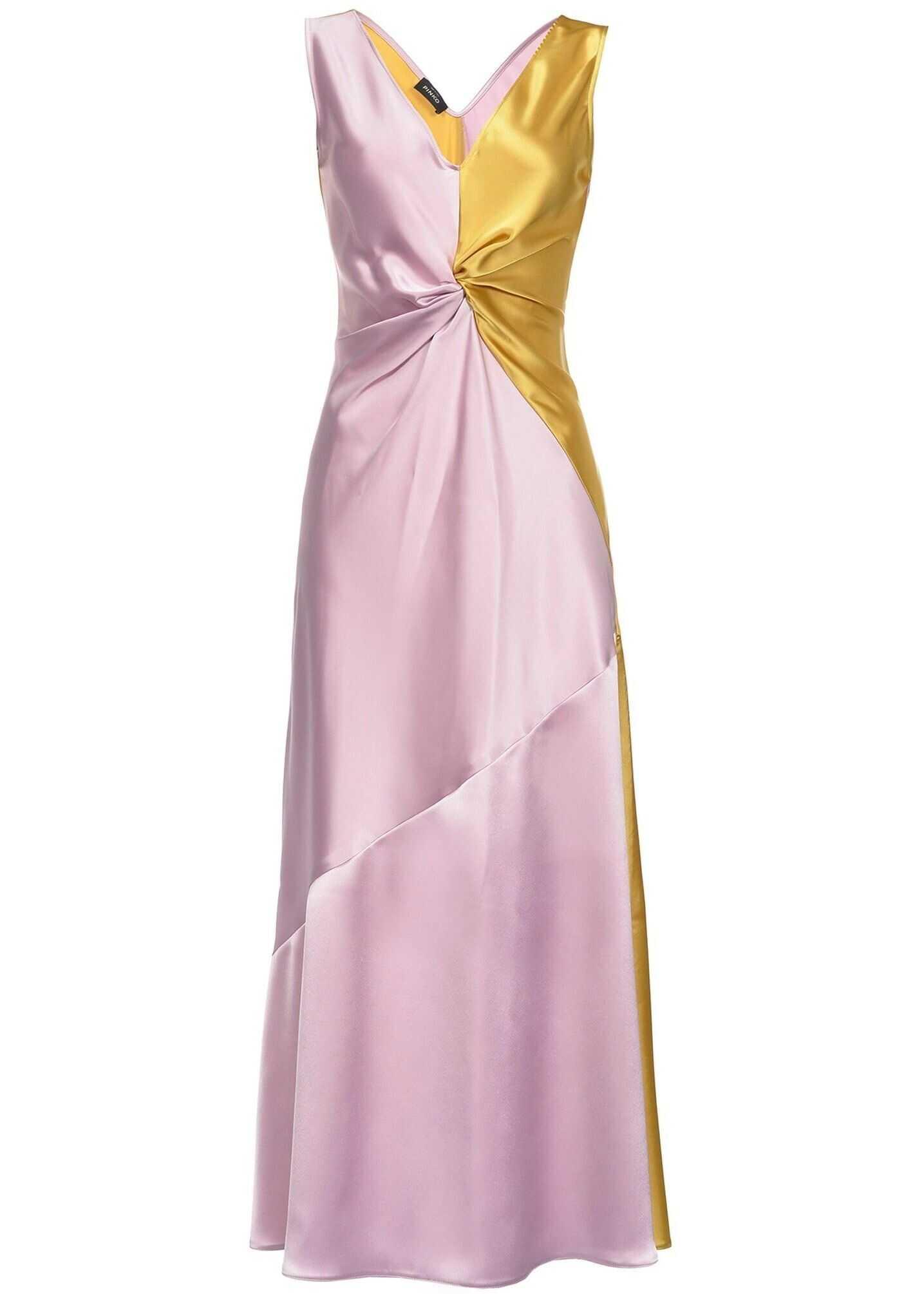 Pinko Synthetic Fibers Dress MULTICOLOR
