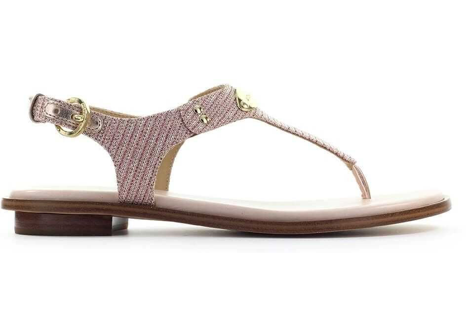 Michael Kors Leather Sandals PINK