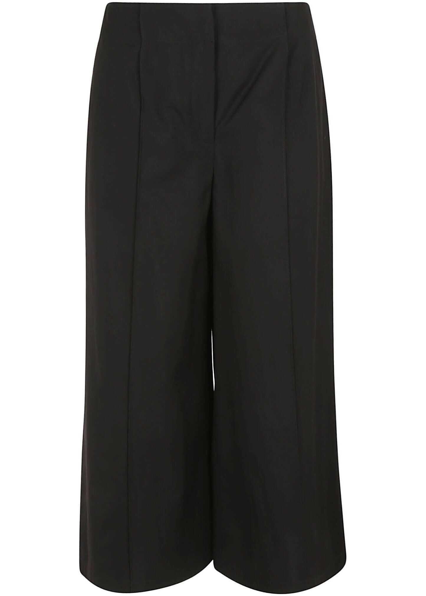 Moschino Viscose Pants BLACK