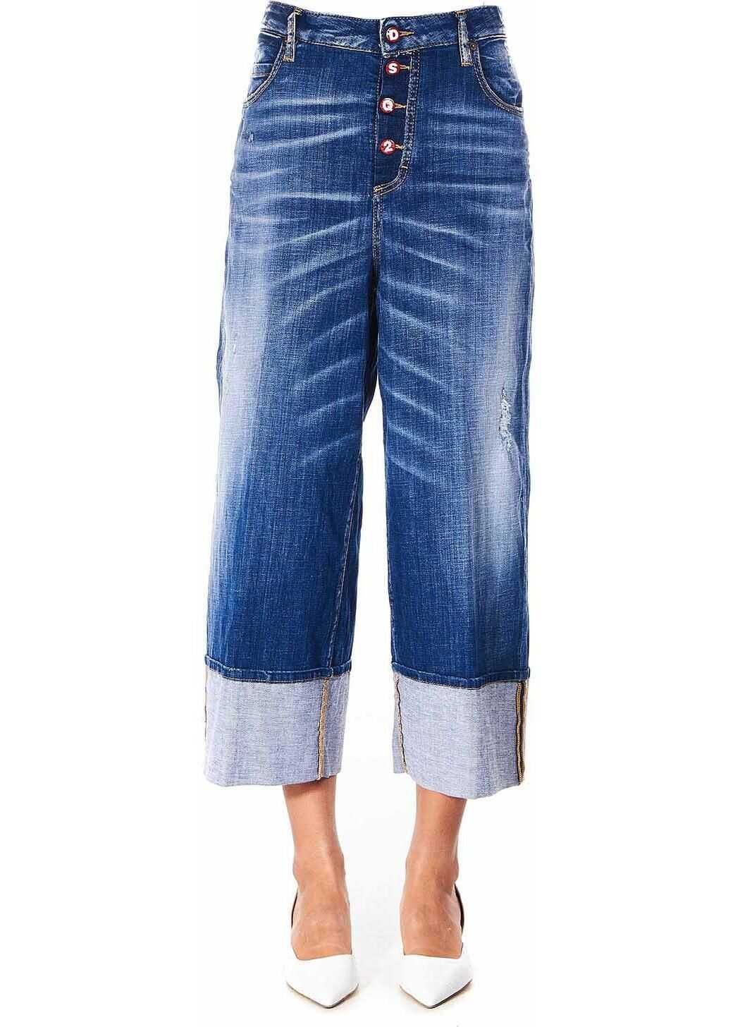 DSQUARED2 Blue Jinny Jeans Blue
