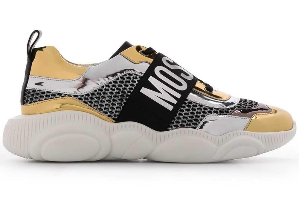 Moschino Polyurethane Sneakers GOLD