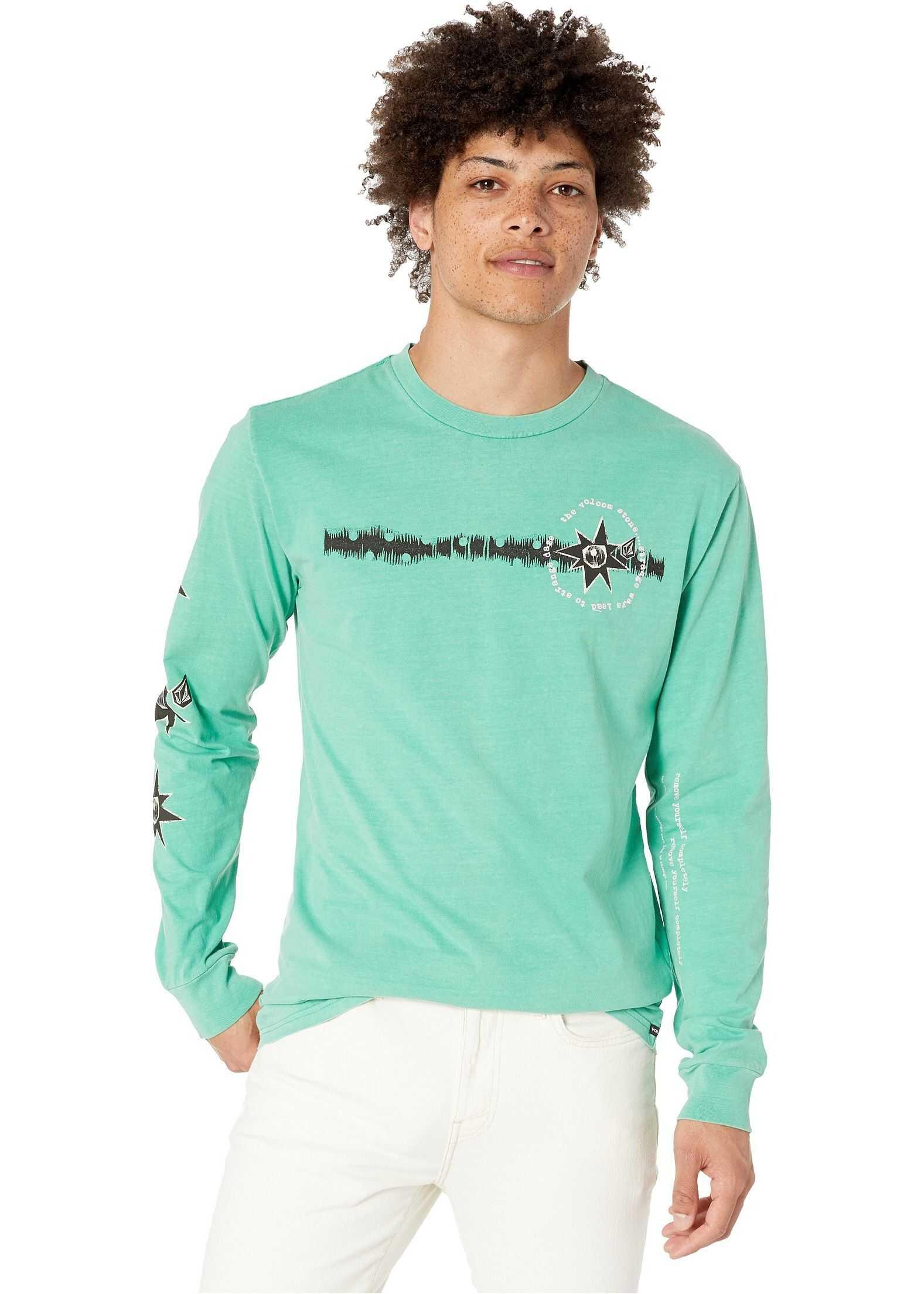 Volcom Mag Sketch Long Sleeve Tee* Wintergreen