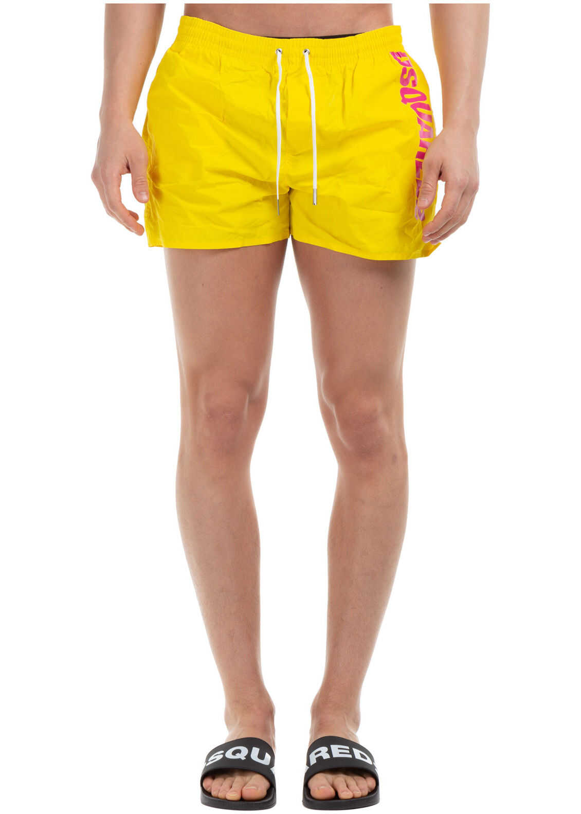 DSQUARED2 Trunks Swimsuit Yellow