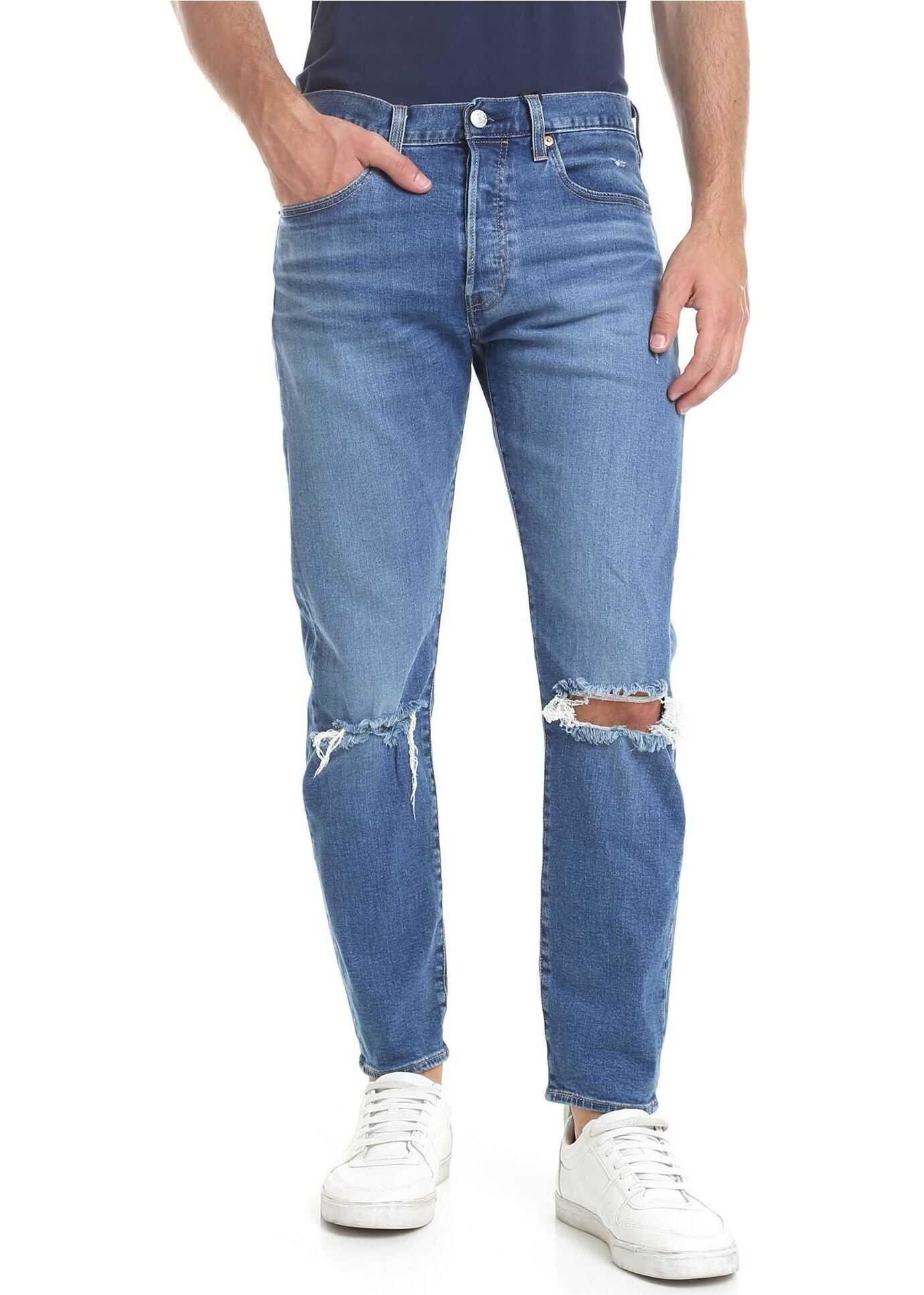 Levi's® 501 Slim Taper Jeans In Blue* Blue