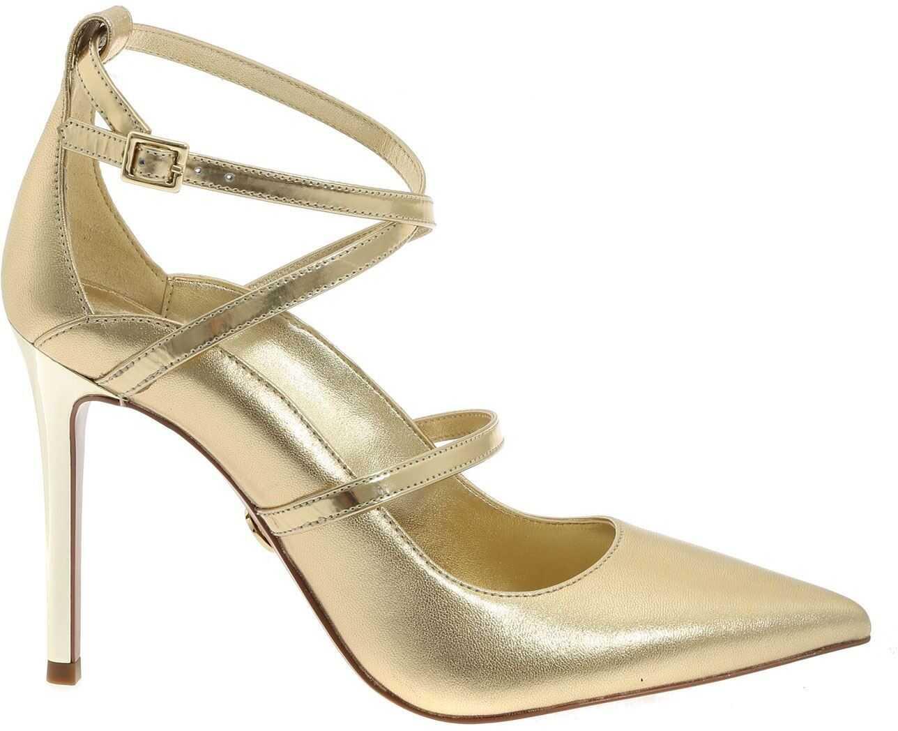 Michael Kors Pumps Geneve In Gold Color Gold