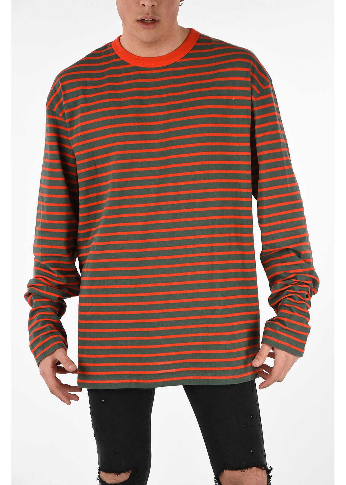 Diesel Striped T-DAICHI T-shirt MULTICOLOR imagine