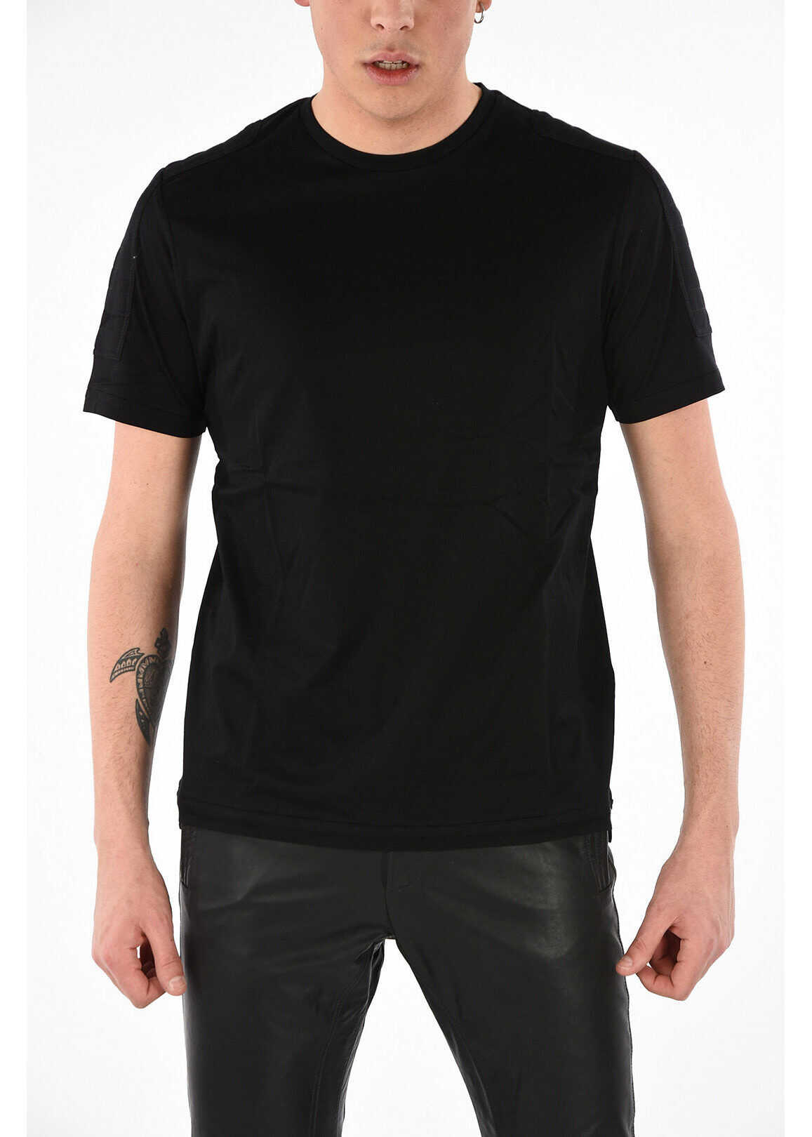Diesel Round Necked T-SADAO T-shirt BLACK