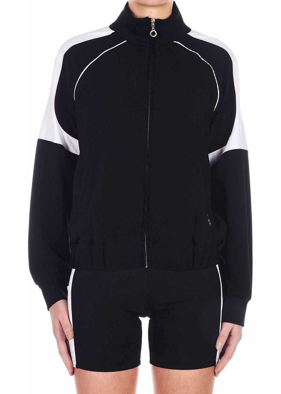 Liu Jo Color block sports jacket Black