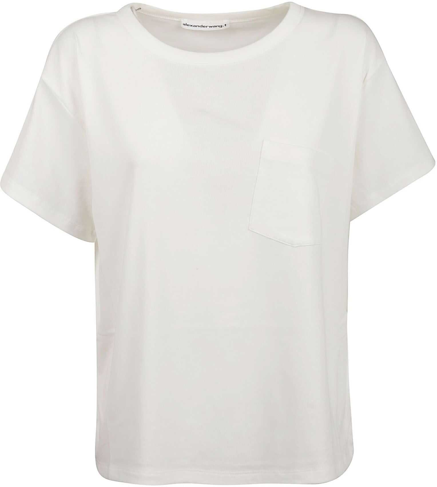 Alexander Wang Cotton T-Shirt WHITE