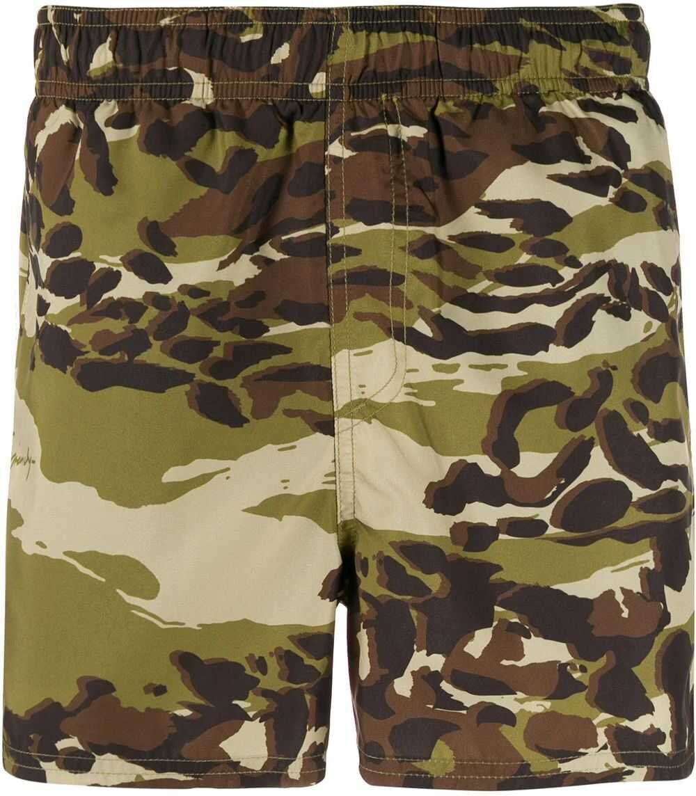 Givenchy Polyester Trunks GREEN