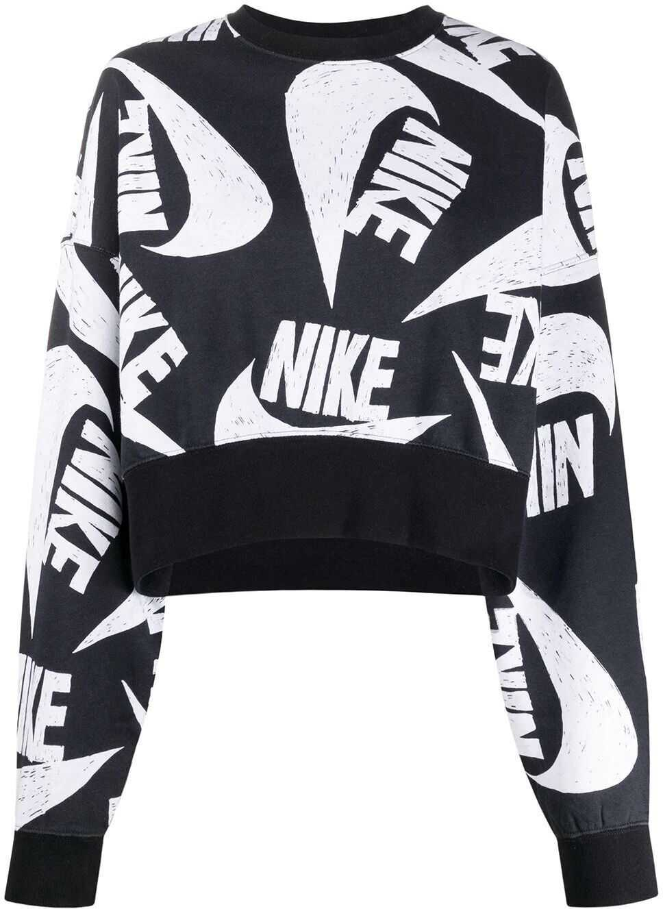 Nike Cotton Sweatshirt BLACK