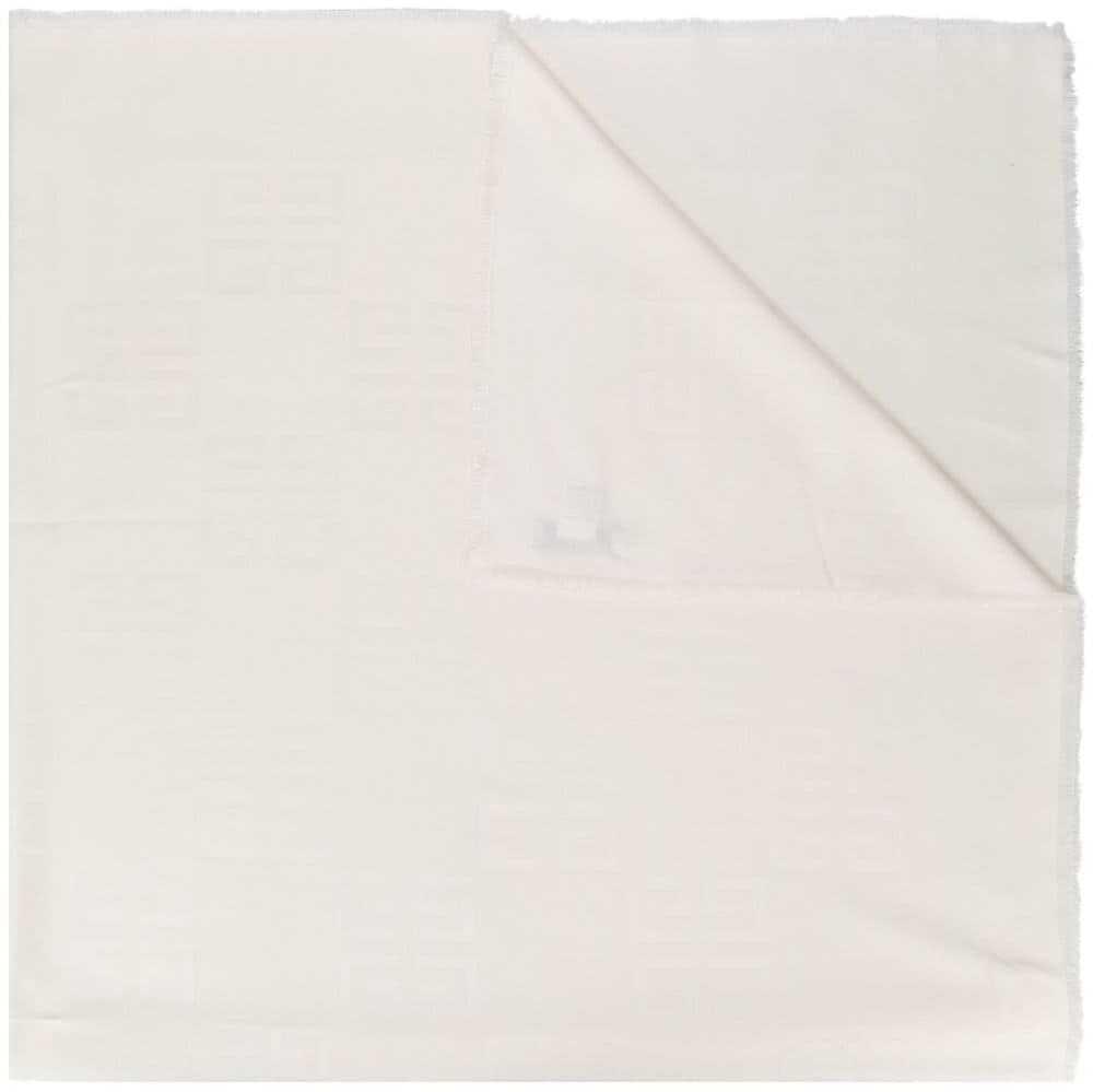 Givenchy Silk Foulard WHITE