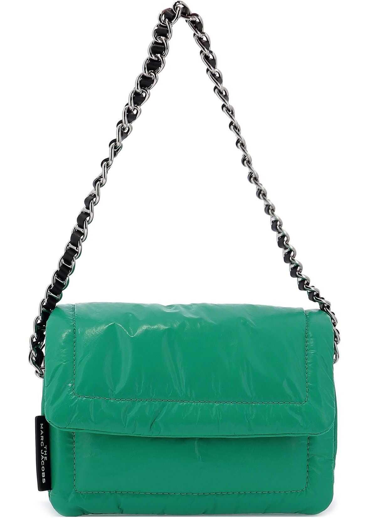 Marc Jacobs Leather Shoulder Bag GREEN