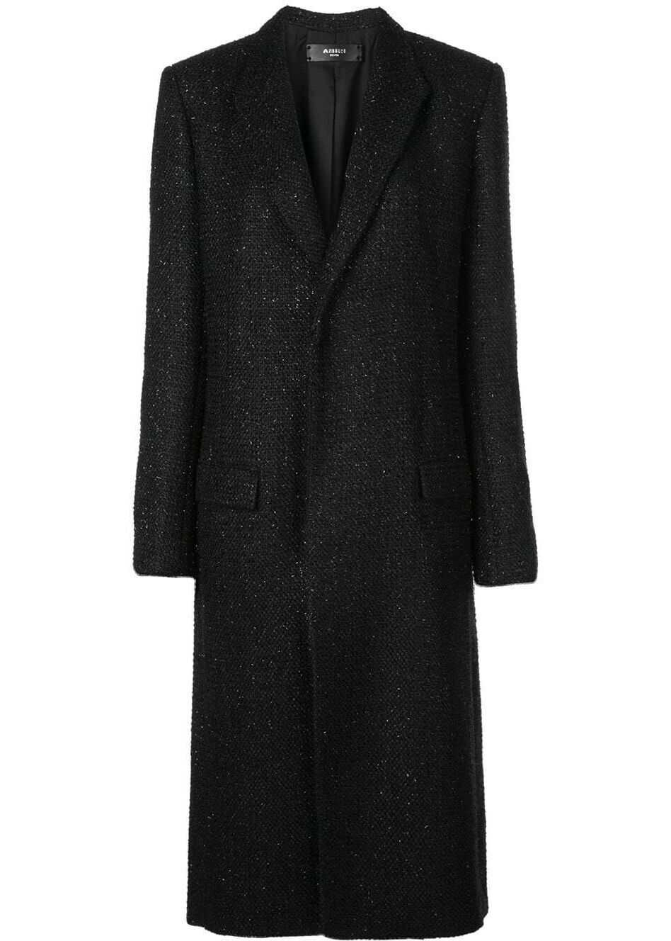 AMIRI Polyester Coat BLACK