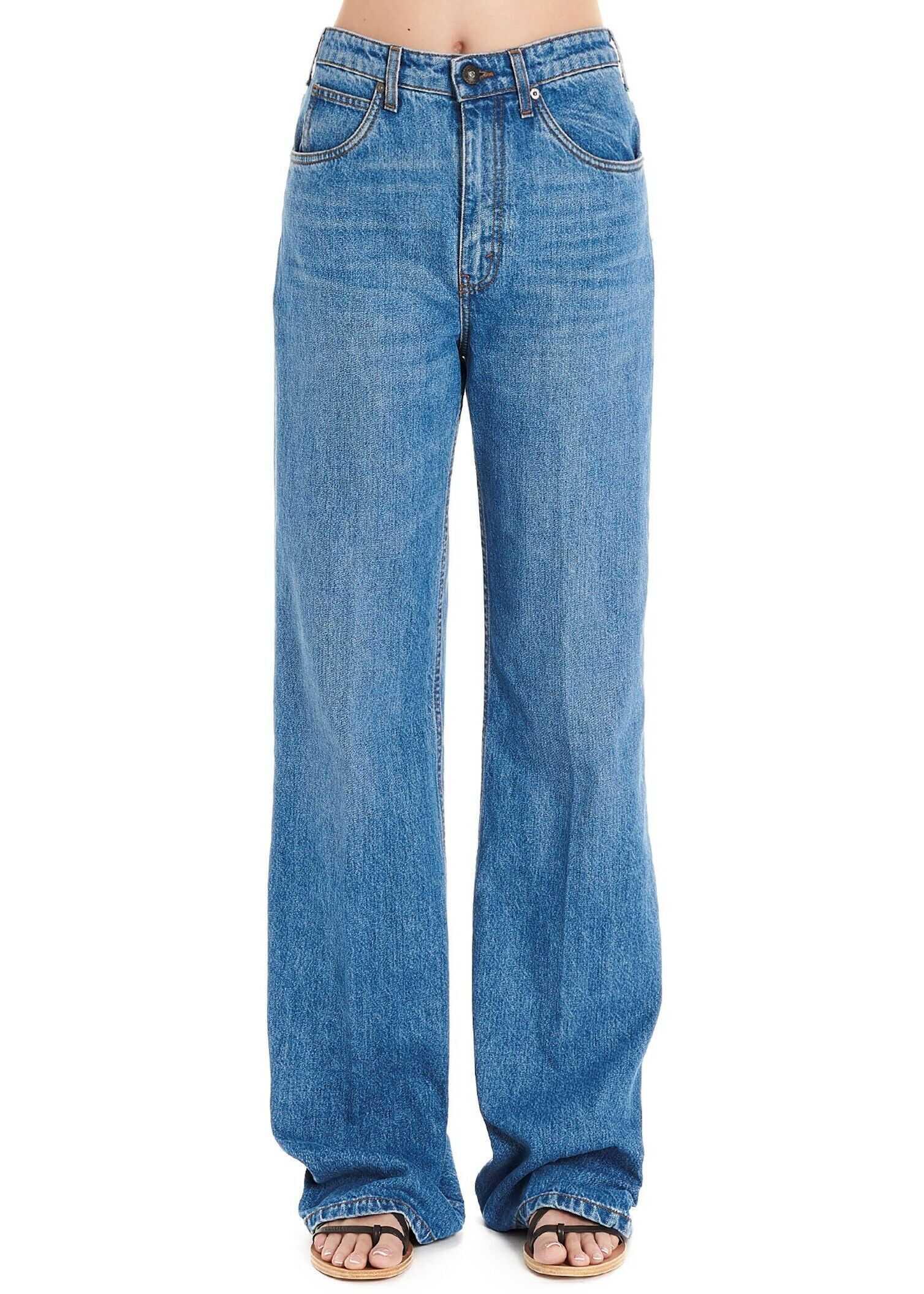 ETRO Cotton Jeans BLUE