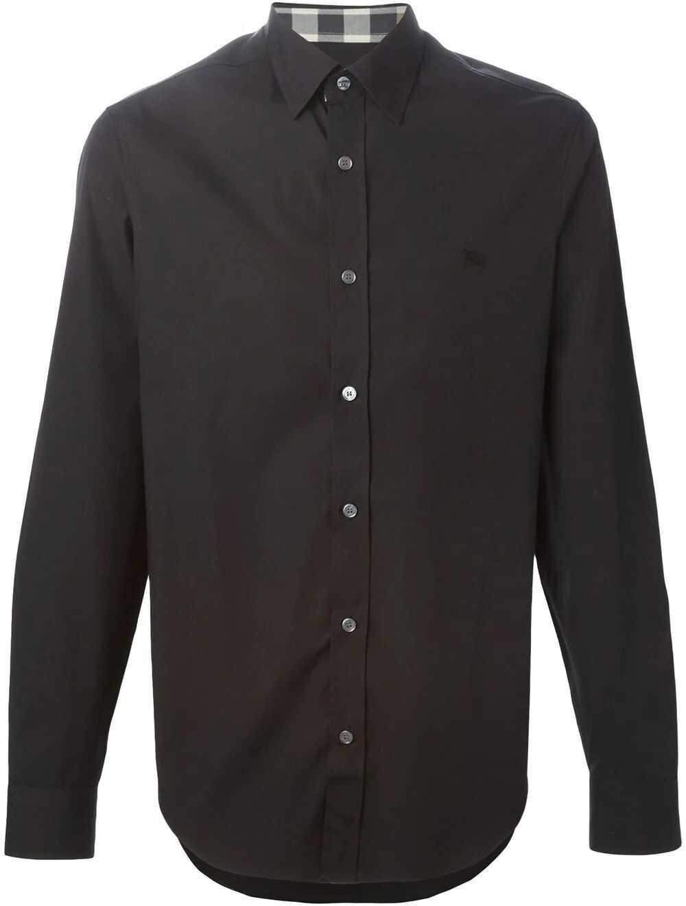 Burberry Cotton Shirt BLACK