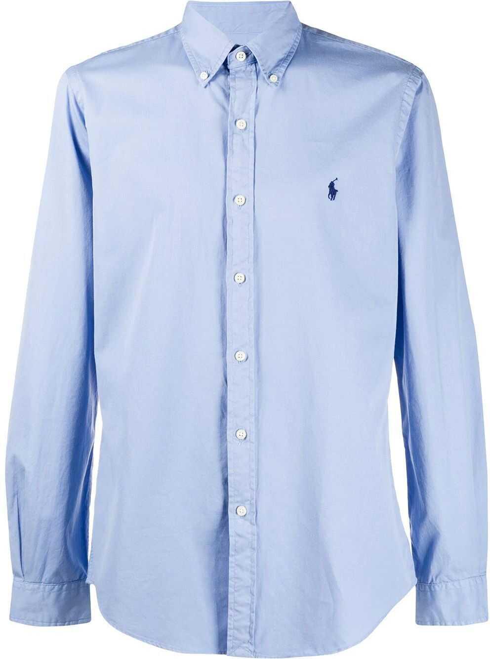 Ralph Lauren Cotton Shirt LIGHT BLUE