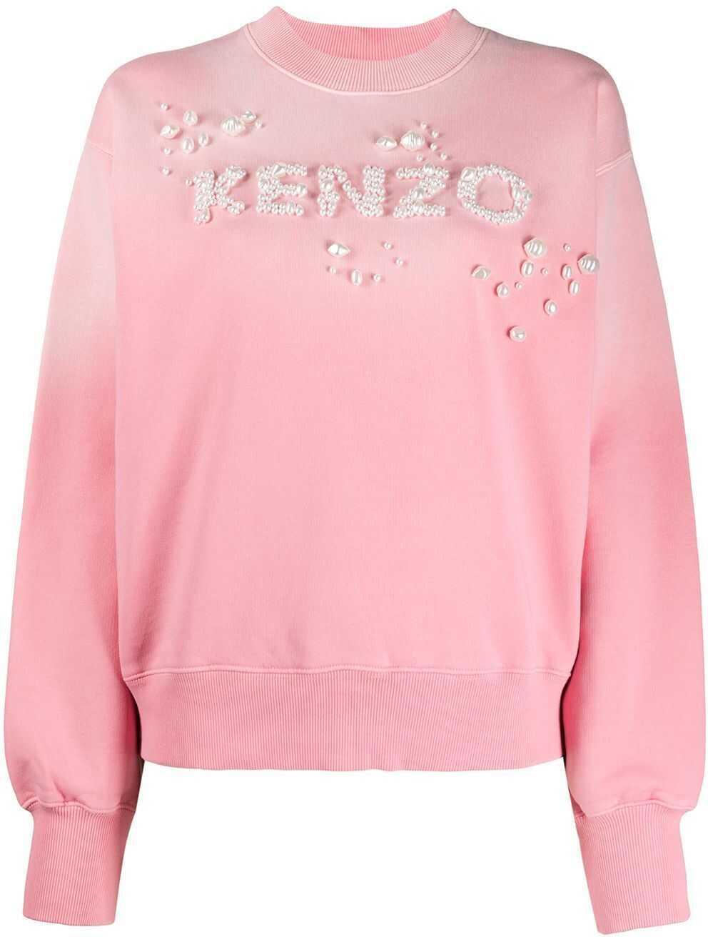 Kenzo Cotton Sweatshirt PINK