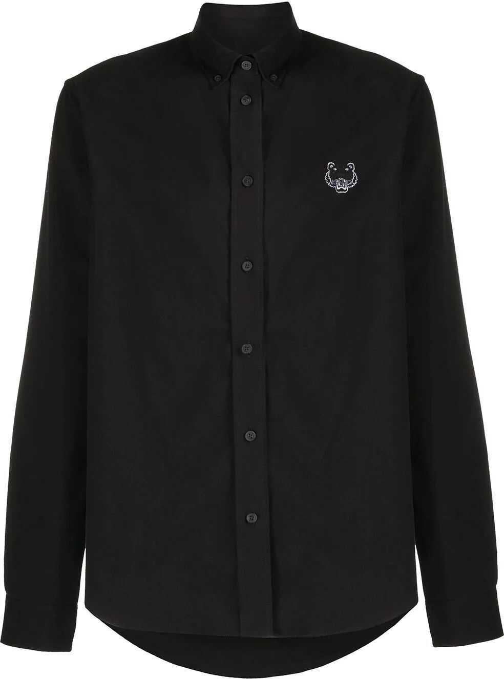 Kenzo Cotton Shirt BLACK