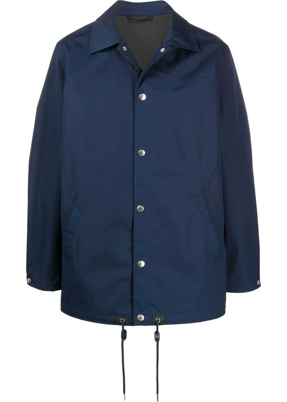 Kenzo Polyester Outerwear Jacket BLUE
