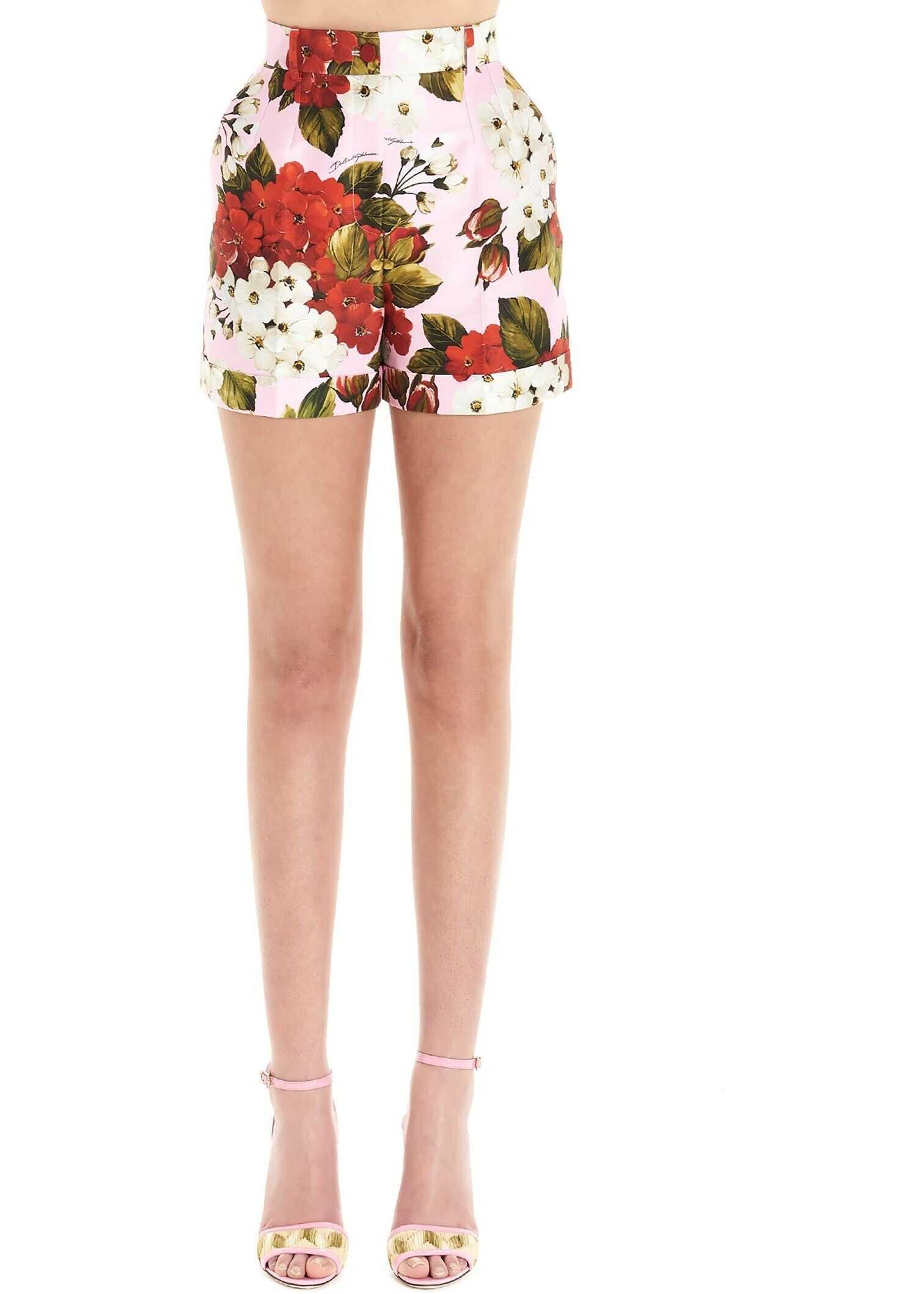 Dolce & Gabbana Cotton Shorts MULTICOLOR