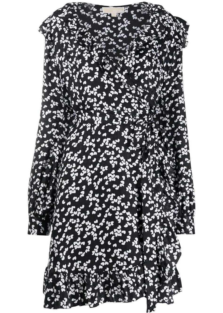 Michael Kors Silk Dress BLACK