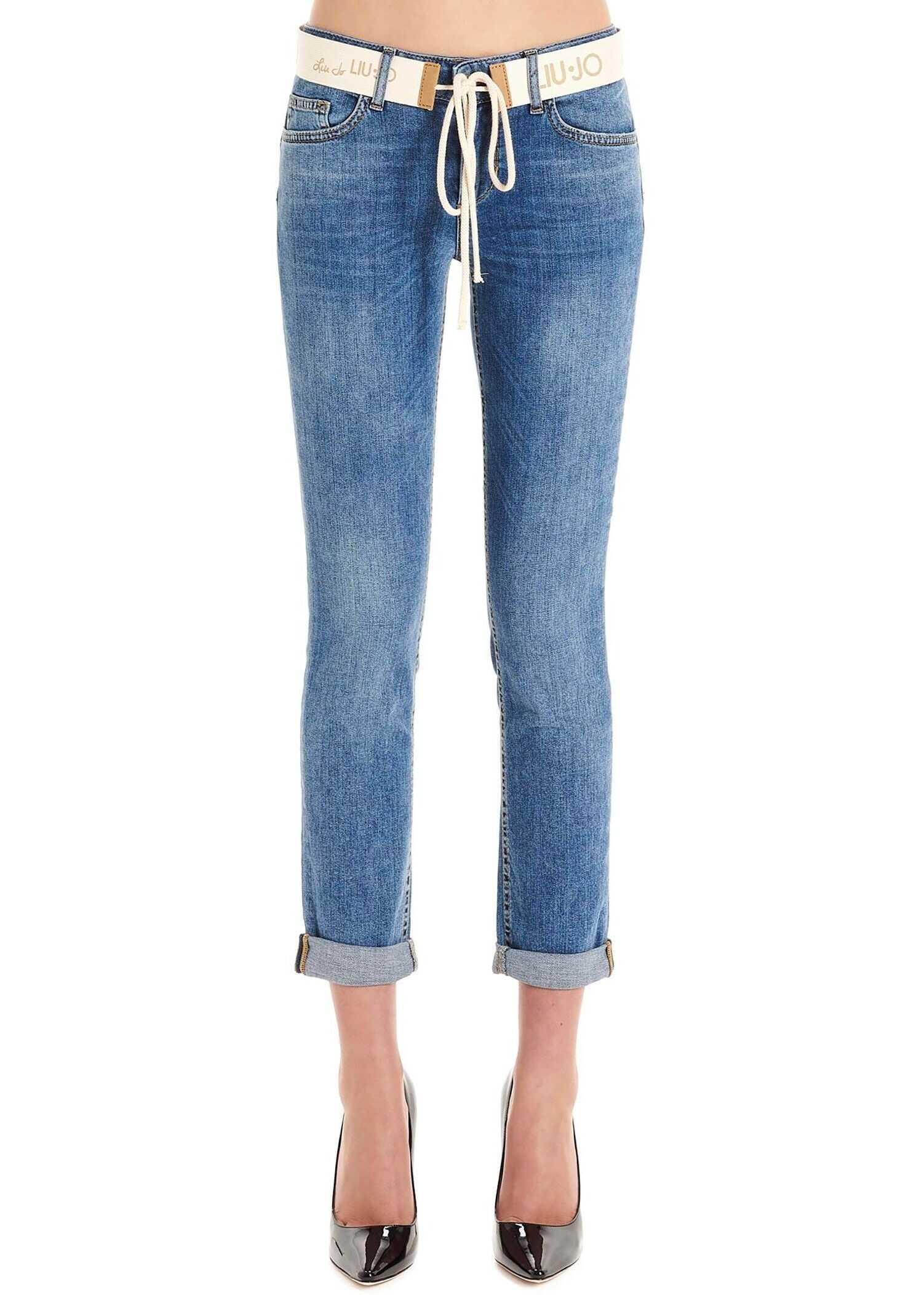 Liu Jo Cotton Jeans BLUE