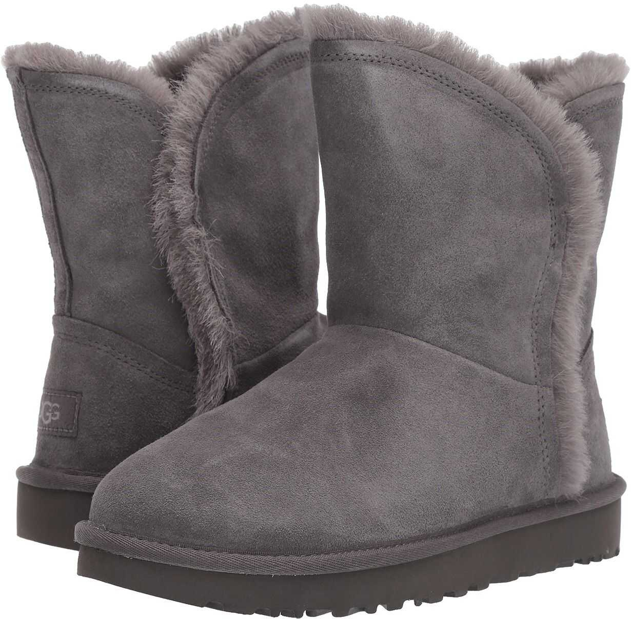 UGG Classic Short Fluff High-Low Charcoal