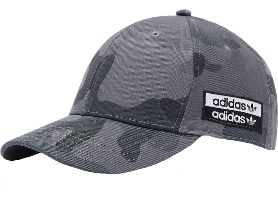 adidas Camo Baseball Cap Grey