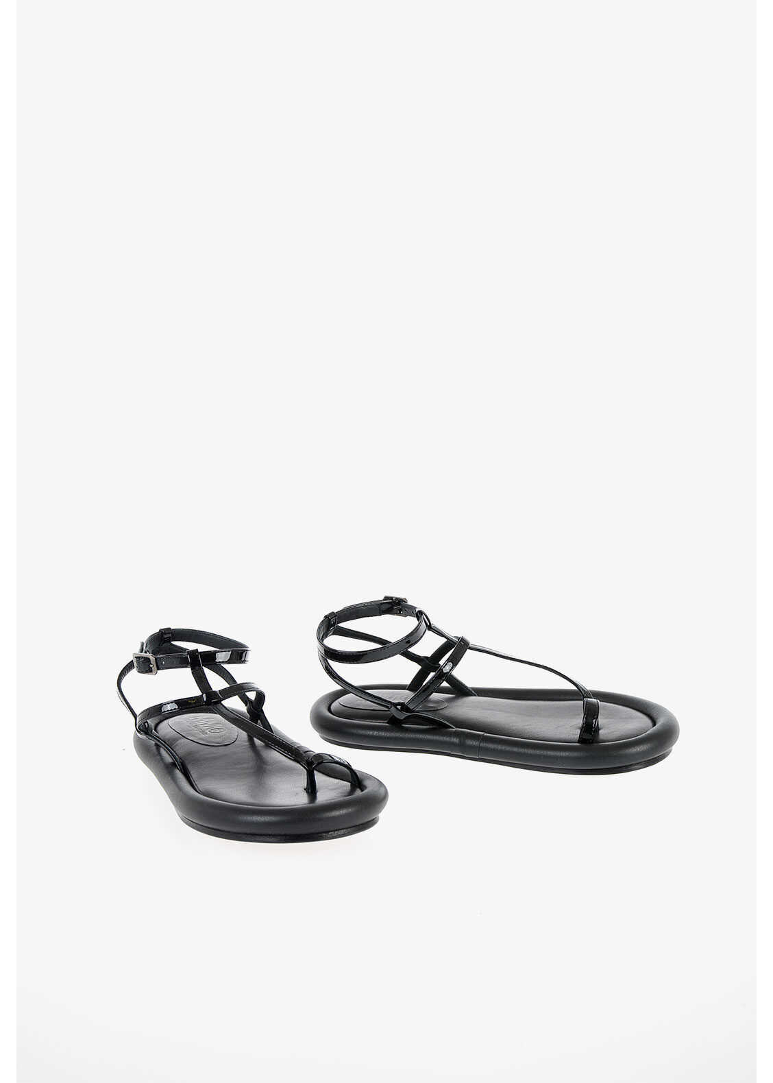 MM6 Faux Leather Sandal thumbnail