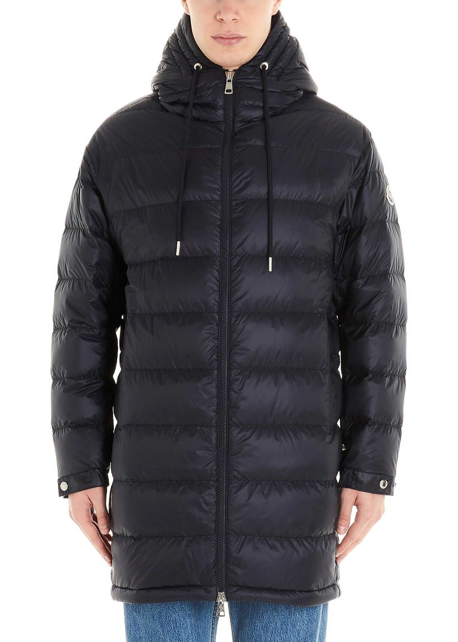 Moncler Polyamide Down Jacket BLUE