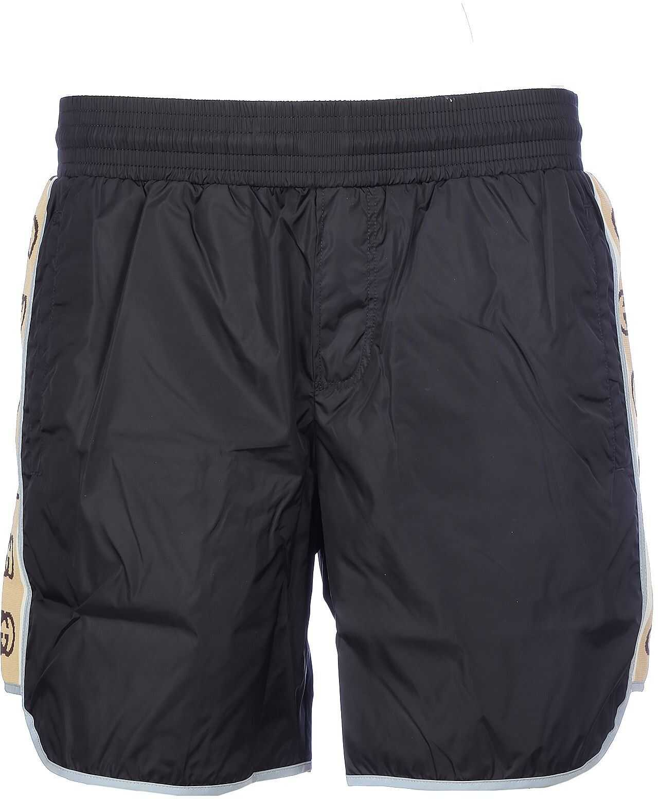 Gucci Polyester Trunks BLACK