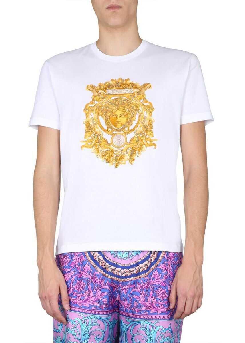 Versace Cotton T-Shirt WHITE