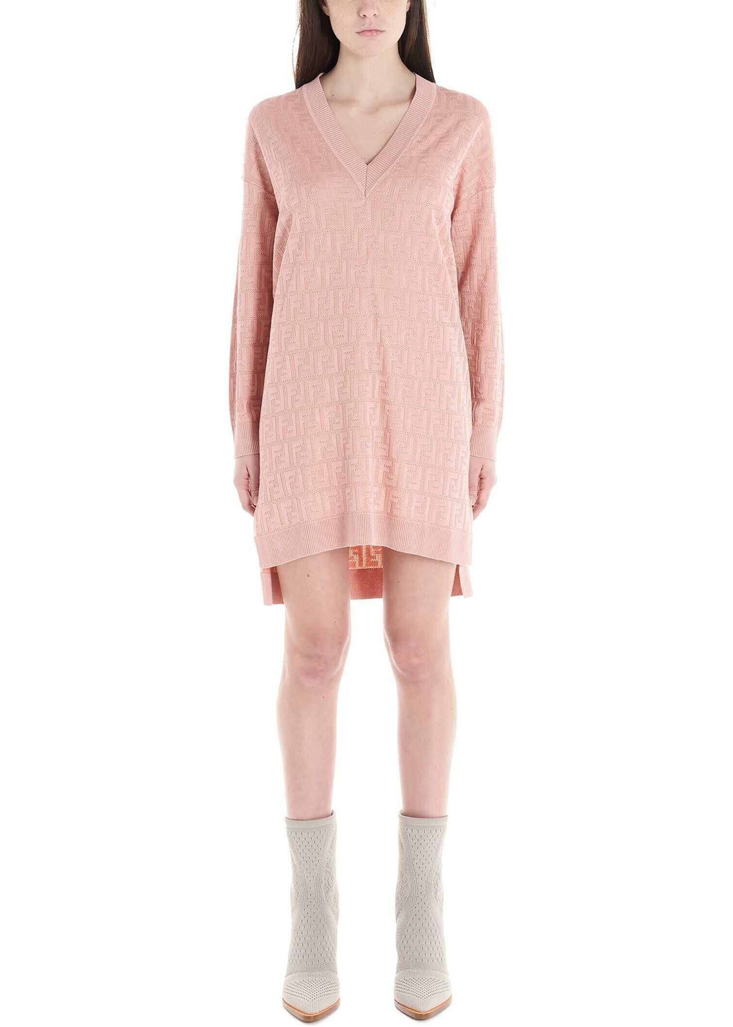 Fendi Cotton Dress PINK