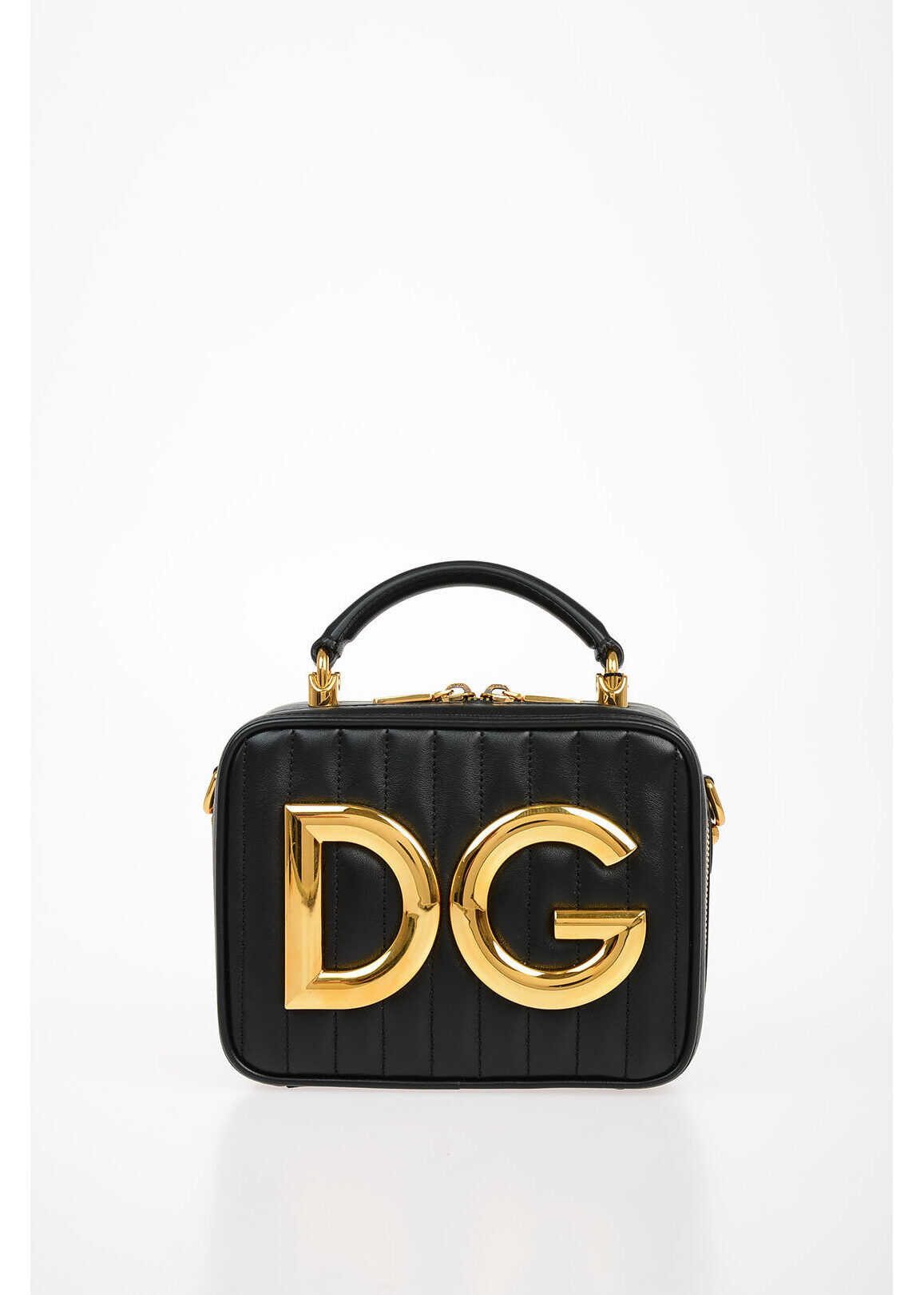 Leather DG GIRLS Mini Shoulder Bag thumbnail