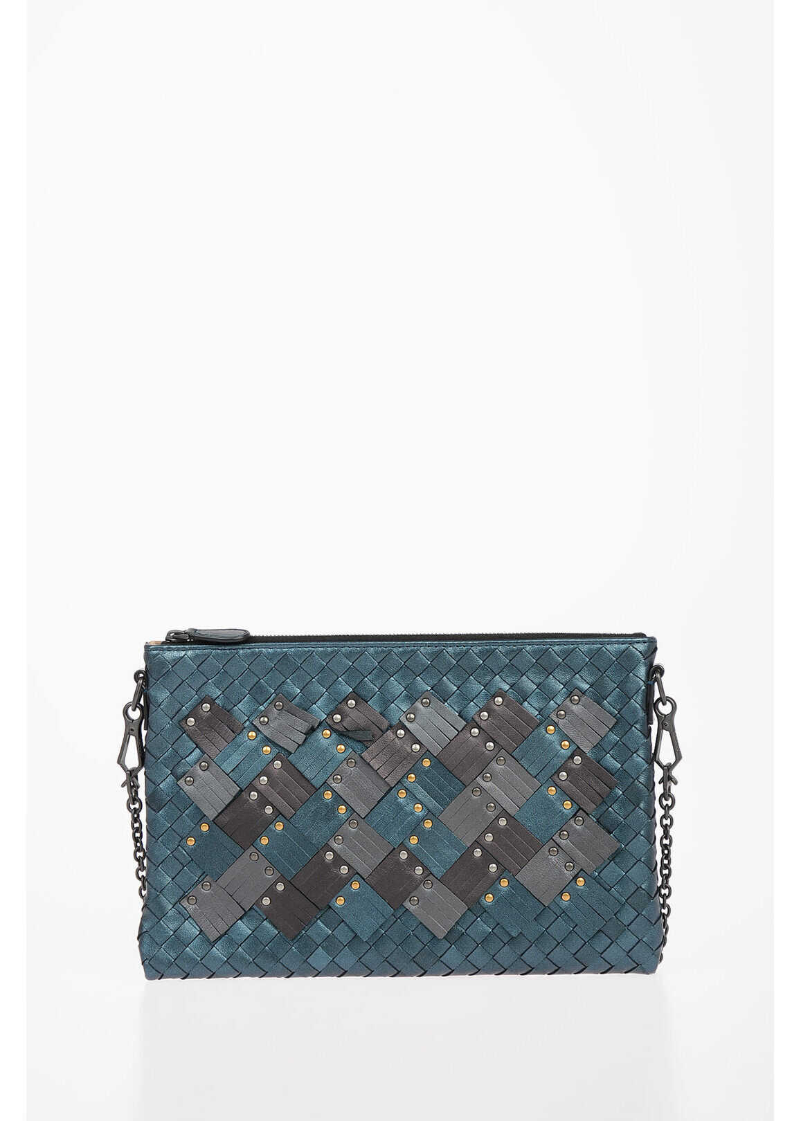 Braided Leather BILETTO Mini Crossbody Bag thumbnail