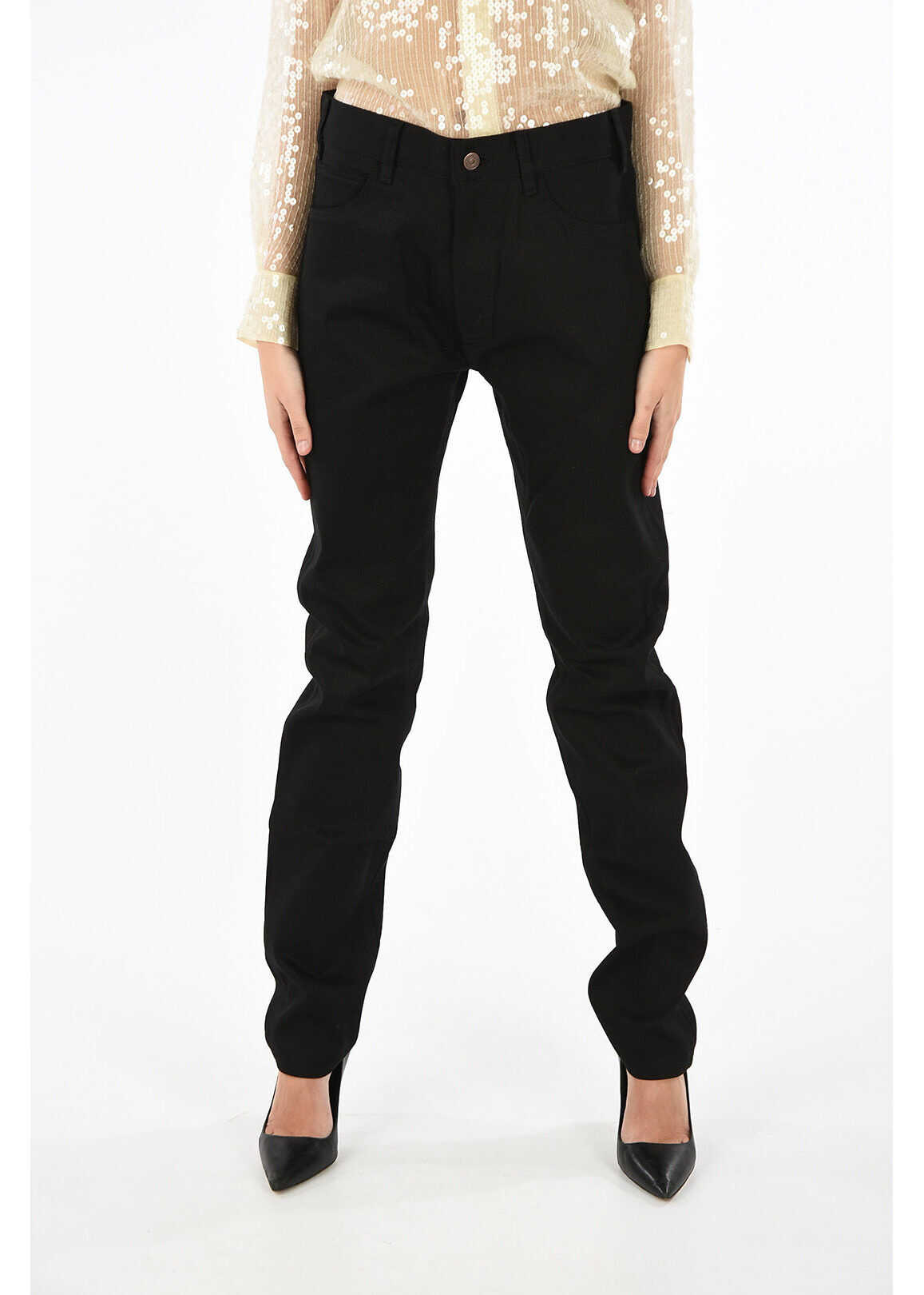 Céline high-rise waist jeans BLACK