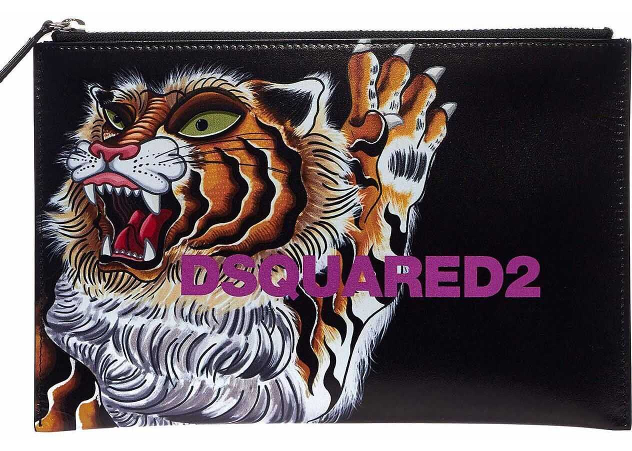 Clutch with animal print thumbnail