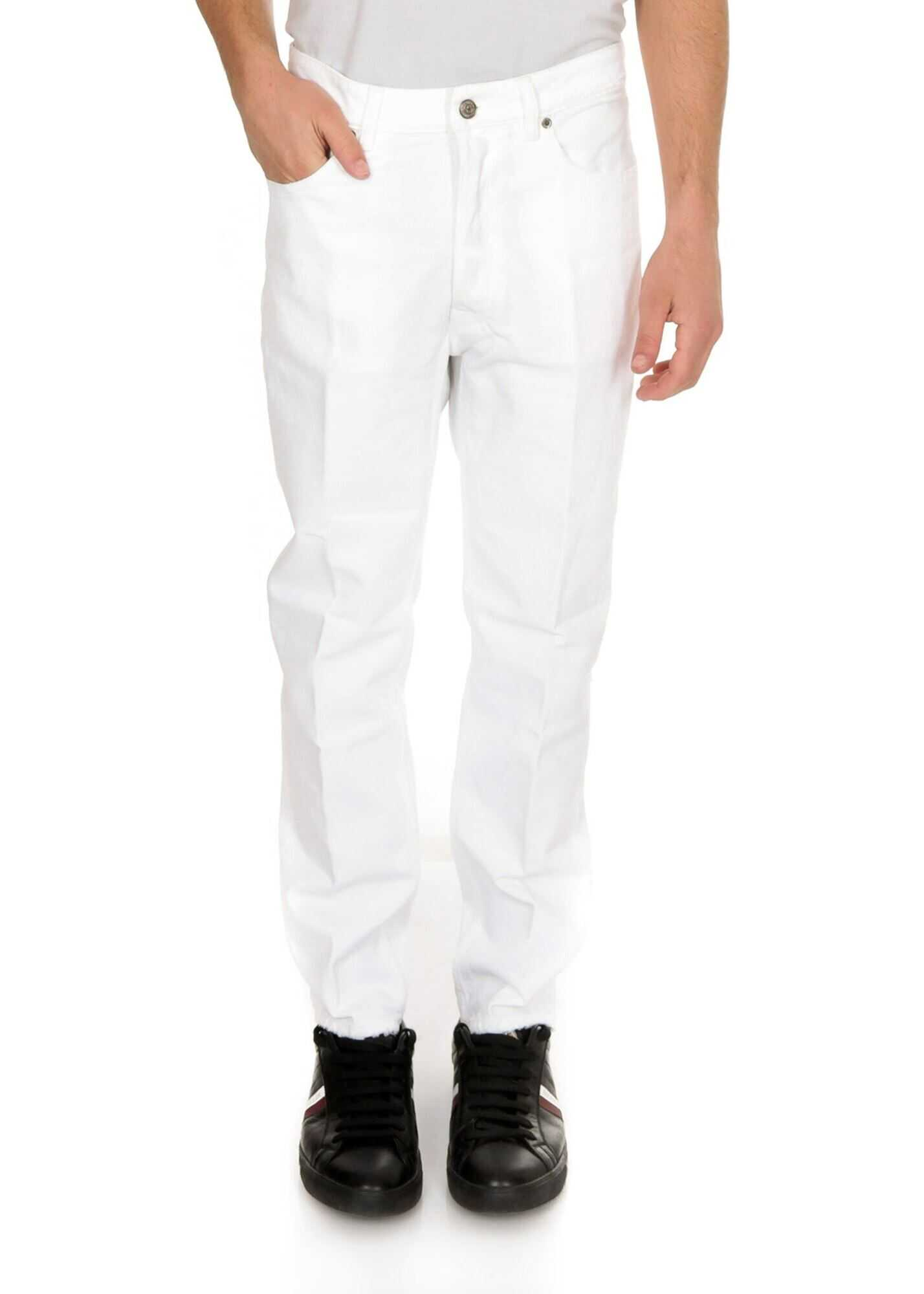 Golden Goose Happy Jeans In White White