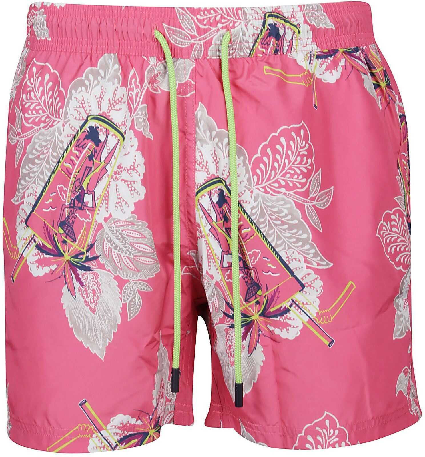 ETRO Polyester Trunks MULTICOLOR