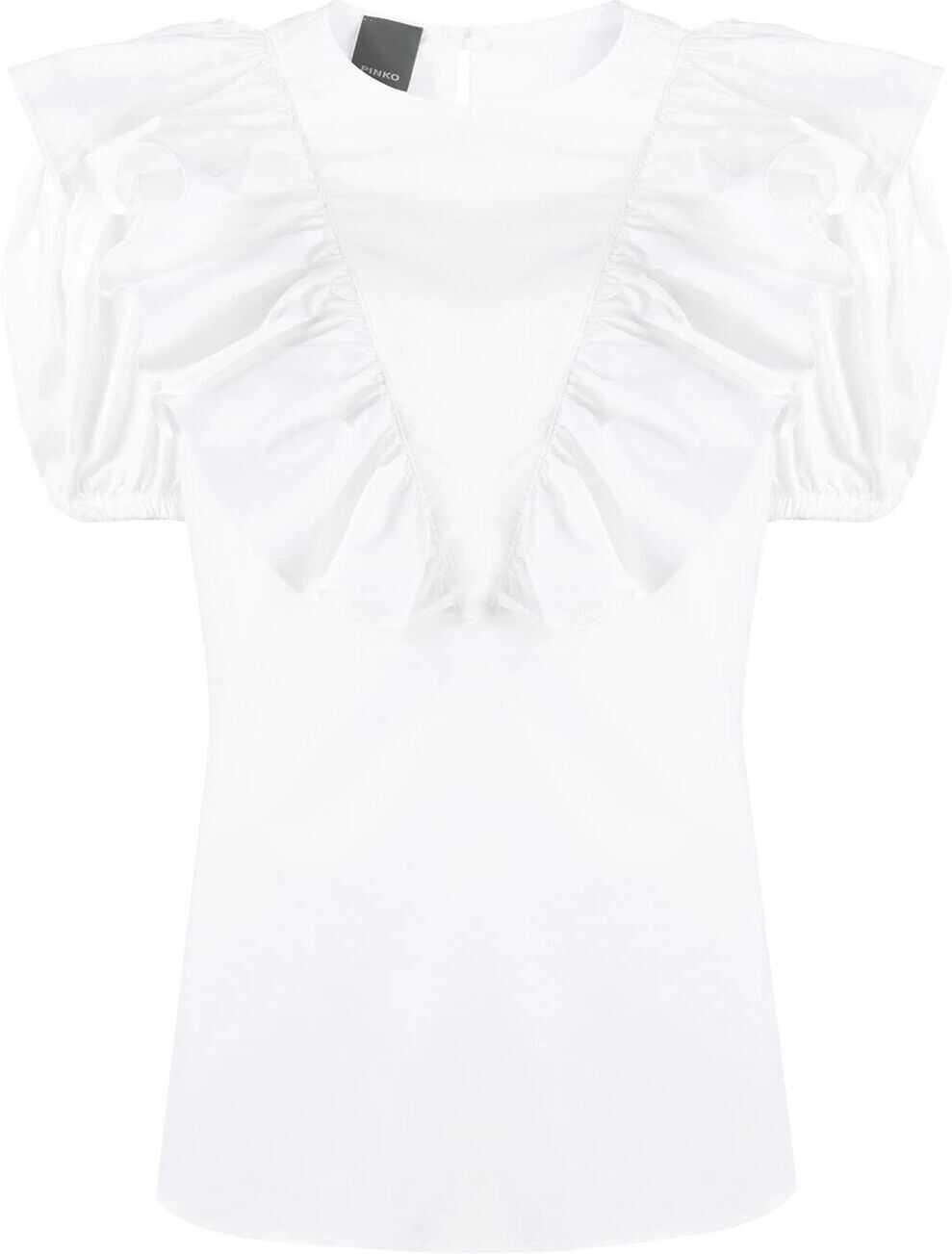 Pinko Cotton Blouse WHITE