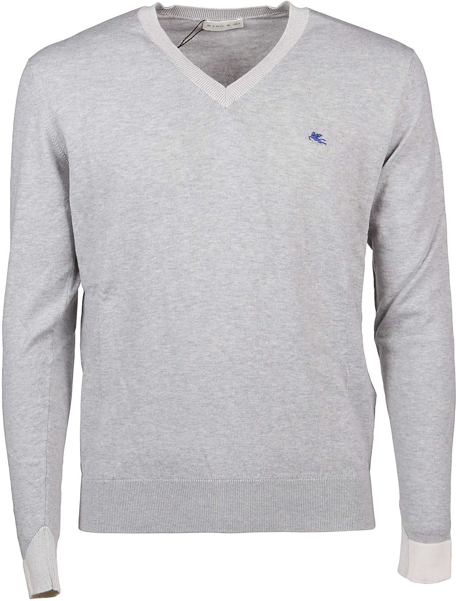 ETRO Cotton Sweater GREY